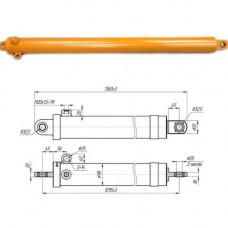 Гидроцилиндр телескопический стогометатель ПКУ-0,8 СНУ-550; ПСБ-800 (укороченный) ГЦТ 56.1295.2.25