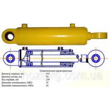 Гидроцилиндр ГЦ-100.50.250.240.00