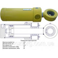Гидроцилиндр ГЦ-110.55.140.350.60
